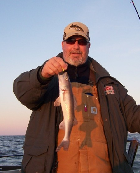 Steve with a nice sauger