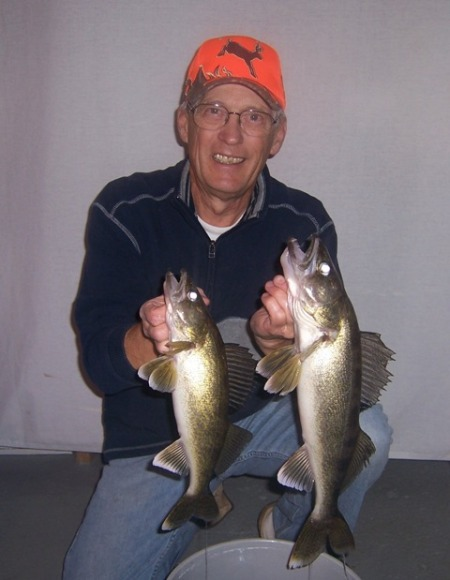Two nice walleyes