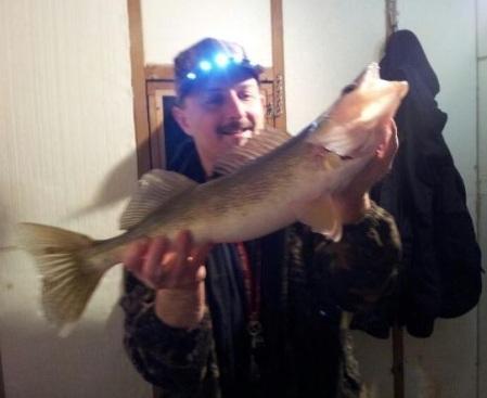 Mike Miller 23 inch walleye