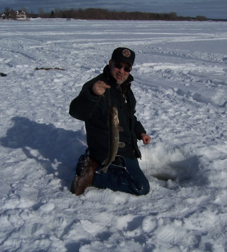 Earl with a pike
