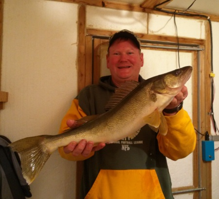Jeff - 24 inch walleye