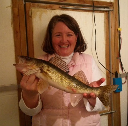 Lisa's First Walleye 1