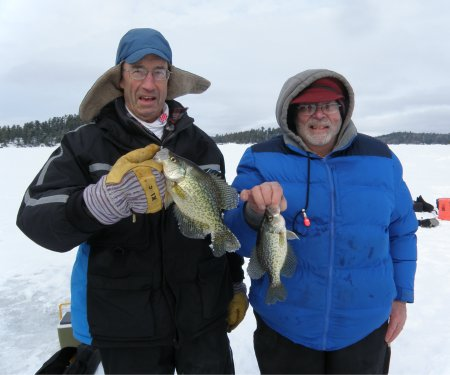 Don & Vyron with Crappies