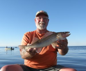 Tom with Sauger
